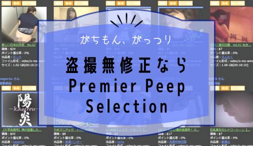 盗撮動画を買うなら「Premier Peep Selection」がおすすめ?料金や特徴をまとめてみた